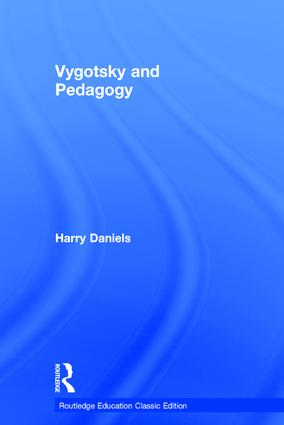 Vygotsky and Pedagogy book cover