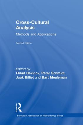 Cross-Cultural Analysis: Methods and Applications, Second Edition book cover