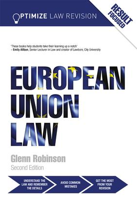 Optimize European Union Law book cover