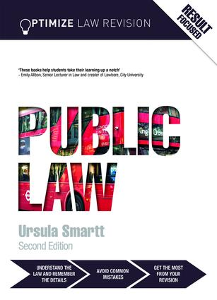 Optimize Public Law: 2nd Edition (Paperback) book cover
