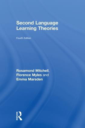 Second Language Learning Theories: Fourth Edition book cover