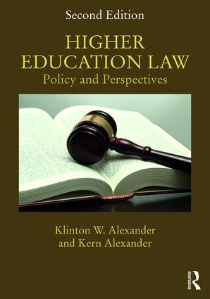 Higher Education Law: Policy and Perspectives book cover