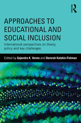 Approaches to Educational and Social Inclusion (Paperback) book cover