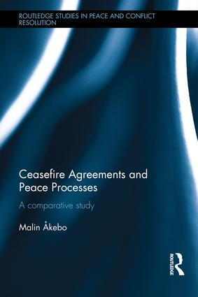 Ceasefire Agreements and Peace Processes: A Comparative Study book cover
