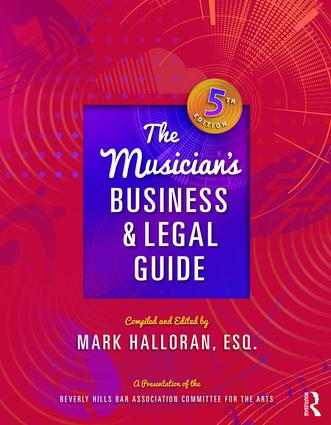 The Musician's Business and Legal Guide, Fifth Edition book cover
