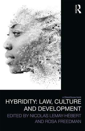 Hybridity: Law, Culture and Development book cover