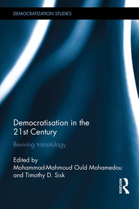 Democratisation in the 21st Century: Reviving Transitology (Hardback) book cover
