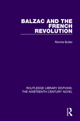 Balzac and the French Revolution