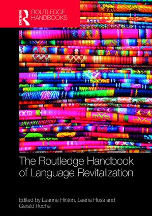 The Routledge Handbook of Language Revitalization book cover