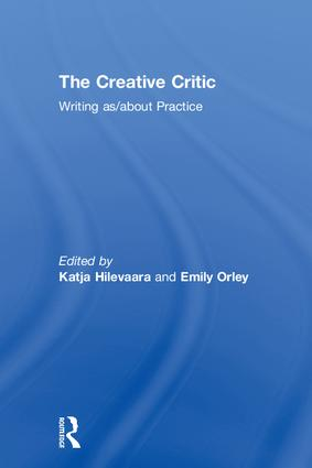 The Creative Critic