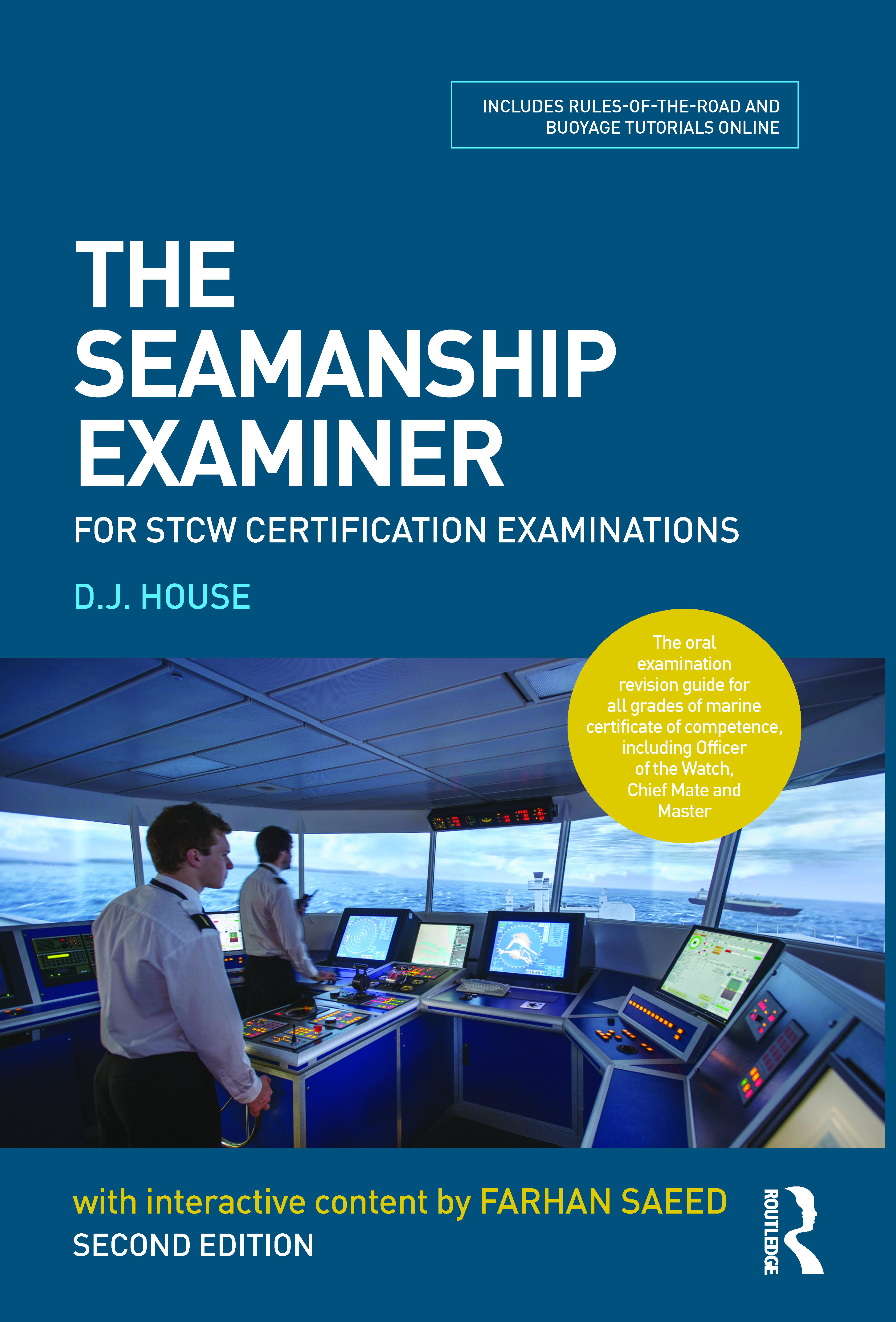 The Seamanship Examiner: For STCW Certification Examinations, 2nd Edition (Paperback) book cover