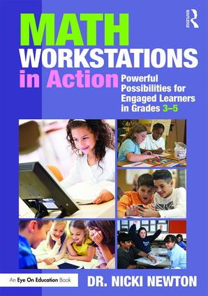 Math Workstations in Action: Powerful Possibilities for Engaged Learning in Grades 3–5 (Paperback) book cover