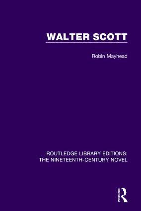 Walter Scott book cover