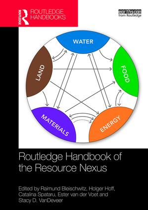Routledge Handbook of the Resource Nexus book cover