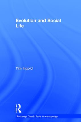Evolution and Social Life book cover