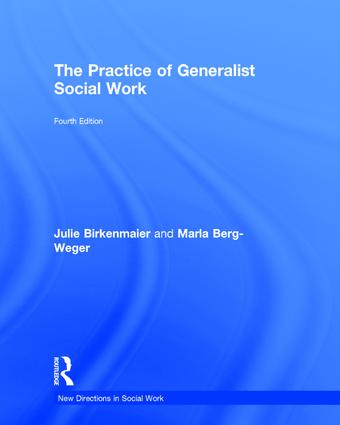 The Practice of Generalist Social Work: 4th Edition (Hardback) book cover