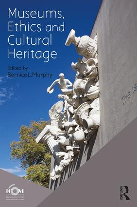 Museums, Ethics and Cultural Heritage book cover