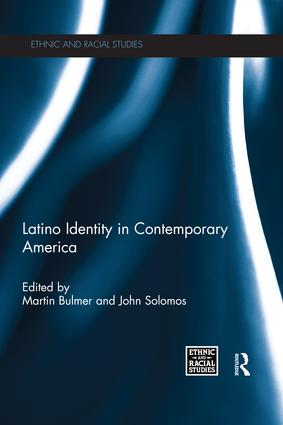 Latino Identity in Contemporary America: 1st Edition (Paperback) book cover
