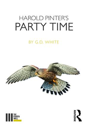 Harold Pinter's Party Time book cover