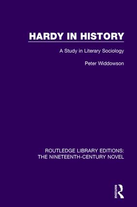 Hardy in History: A Study in Literary Sociology, 1st Edition (Paperback) book cover