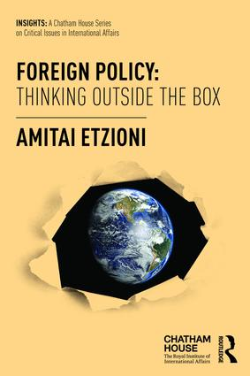 Foreign Policy: Thinking Outside the Box: 1st Edition (Paperback) book cover