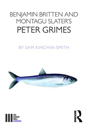 Benjamin Britten and Montagu Slater's Peter Grimes book cover