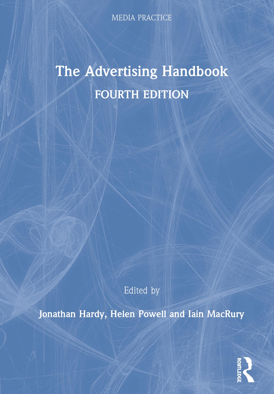 The Advertising Handbook: 4th Edition (Hardback) book cover