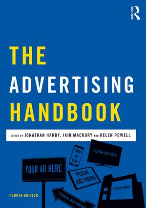 The Advertising Handbook: 4th Edition (Paperback) book cover