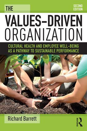 The Values-Driven Organization: Cultural Health and Employee Well-Being as a Pathway to Sustainable Performance, 2nd Edition (Paperback) book cover