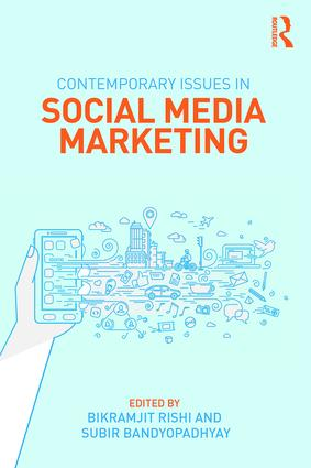 Contemporary Issues in Social Media Marketing: 1st Edition (e-Book) book cover