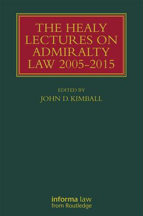 The Healy Lectures: 2005-2015, 1st Edition (Hardback) book cover