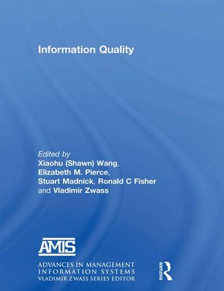 Information Quality: 1st Edition (Paperback) book cover