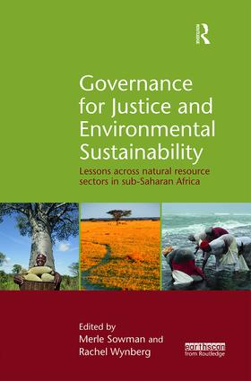 Governance for Justice and Environmental Sustainability