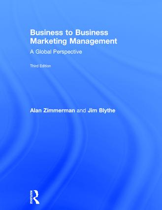 Business to Business Marketing Management: A Global Perspective, 3rd Edition (Hardback) book cover
