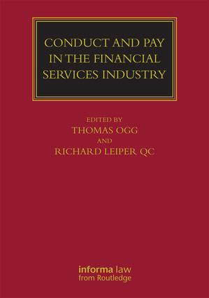 Conduct and Pay in the Financial Services Industry: The regulation of individuals book cover