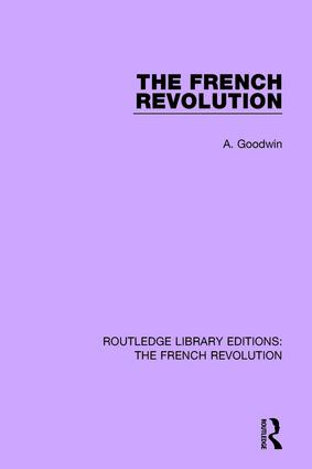 The French Revolution: 1st Edition (Paperback) book cover