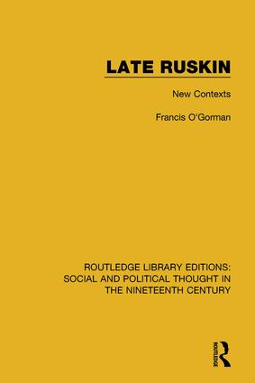 Late Ruskin: New Contexts book cover