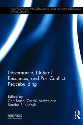 Governance, Natural Resources and Post-Conflict Peacebuilding book cover