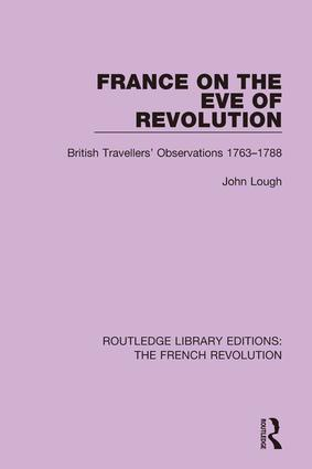 France on the Eve of Revolution