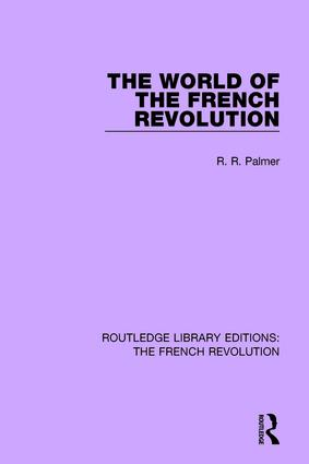 The World of the French Revolution book cover