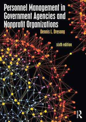 Personnel Management in Government Agencies and Nonprofit Organizations book cover