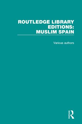 Routledge Library Editions: Muslim Spain: 1st Edition (Hardback) book cover