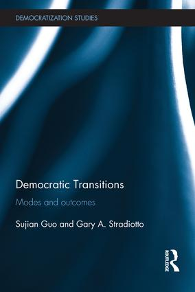 Democratic Transitions: Modes and Outcomes, 1st Edition (Paperback) book cover
