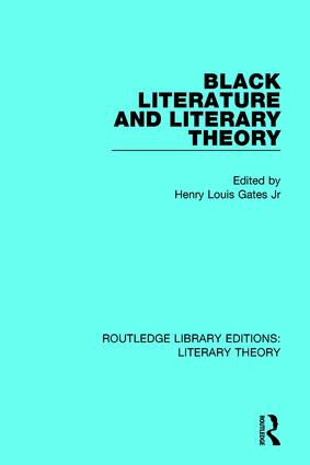 Black Literature and Literary Theory book cover