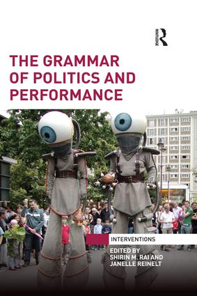 The Grammar of Politics and Performance book cover
