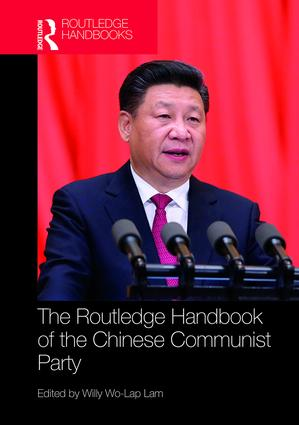Routledge Handbook of the Chinese Communist Party book cover