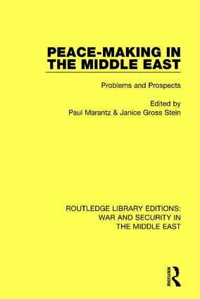 Peacemaking in the Middle East: Problems and Prospects book cover