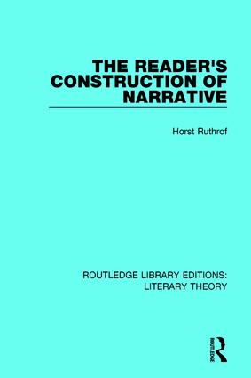 The Reader's Construction of Narrative book cover
