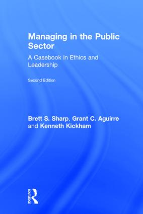 Managing in the Public Sector