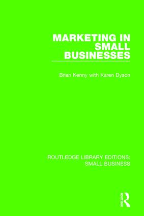 Marketing in Small Businesses book cover
